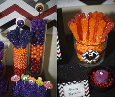 Candy at a Halloween Party #Halloween #party