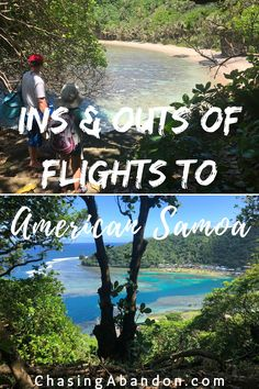 Need help planning out your flight itinerary to American Samoa, and the rest of the South Pacific? This guide outlines the routes and airlines providing flights to American Samoa and independent Samoa. | American Samoa National Park | American Samoa Travel | American Samoa Pago Pago | South Pacific Islands | Places To Travel, Travel Destinations, Places To Visit, Amazing Destinations, Asia Travel, Travel Usa, Travel Guides, Travel Tips, New Zealand Travel