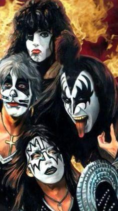 Kiss Fan Poster.
