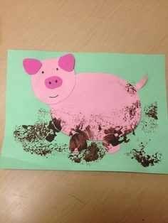 Pig Crafts For Toddlers clothespin farm animal magnets. paper-cow-crafts-for-t - Farm Animal Crafts, Pig Crafts, Animal Crafts For Kids, Toddler Crafts, Farm Animals, Kindergarten Art, Preschool Crafts, Cow Craft, Farm Lessons