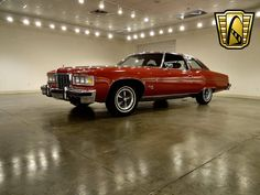 1976 Pontiac Bonneville 2 DR. '76 would be the last year for the gargantuan design which began in 1971. The full size GM cars would undergo a massive redesign in 1977, shedding hundreds of pounds and inches in length.