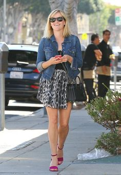 Reese Witherspoon - Reese Witherspoon Meets Kate Hudson for Lunch