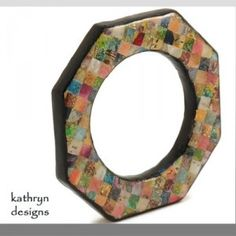 KATHRYN DESIGNS: Kathryn uses polymer clay to create Old World-looking pieces for the New World jewelry lover. http://www.kathryndesigns.artfire.com
