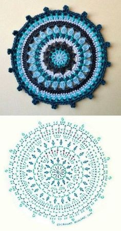 Transcendent Crochet a Solid Granny Square Ideas. Inconceivable Crochet a Solid Granny Square Ideas. Crochet Diy, Love Crochet, Crochet Flowers, Beautiful Crochet, Motif Mandala Crochet, Crochet Circles, Crochet Squares, Mandala Rug, Granny Squares
