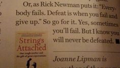 Found in Glamour magazine. article by Joanne Lipman Glamour Magazine, Giving Up, Knowing You, Fails, Personalized Items, Book, Books, Letting Go, Book Illustrations