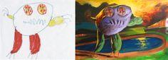 monstruos dibujados por niños - Buscar con Google