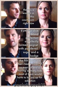 Shules moment FAVORITE THING ABOUT THE REMAKE!!!!! Psych