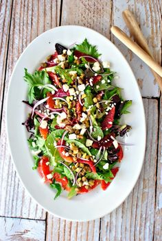 Blood Orange Salad + Ginger and Cayenne Blood Orange Vinaigrette