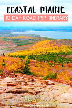 How To Spend 10 Days In Beautiful Coastal Maine Maine Road Trip, Us Road Trip, Maine In The Fall, World Most Beautiful Place, Northern Maine, New England Travel, Travel Usa, Travel Maine, State Parks