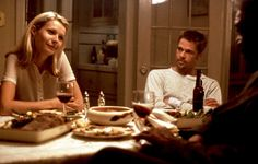 """Seven"" movie still, L to R: Gwyneth Paltrow, Brad Pitt, Morgan Freeman. Gwyneth Paltrow, David Fincher, Kevin Spacey, Chris Martin, James Cameron, Movie Plot, Film Movie, Harrison Ford, House Of Cards"
