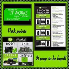 Become an It Works loyal customer and enjoy a variety of products we have to offer for everyday life!!You really can buy more and save more when you join our loyal customer program and enjoy the many perks of being Loyal! To find out how please comment below ⬇️ or inbox me 'LOYAL CUSTOMER' for more info! #itworks #itworksloyalcustomer #itworksglobal #itworkswraps #itworksgreens #itworkssystem #itworksproducts #itworksresults