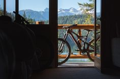 'Tis some visitor' I muttered tapping at my chamber door - Only Stumpjumper and it's SWAT Door.  Photo from @harookz during #DestinationTrail: Canada (Video in Bio) by iamspecialized