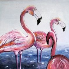 www.paint-work.de Flamingos