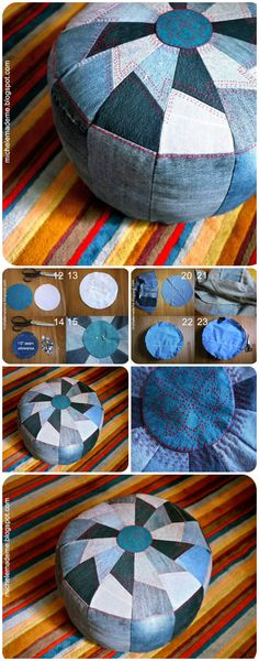 All of these recycle jeans ideas are very easy to create and easily can be understood. Old jeans can be transformed into cushion covers,