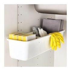 IKEA - VARIERA, Uittrekbare bak, Uittrekbaar en dat maakt de inhoud goed toegankelijk.