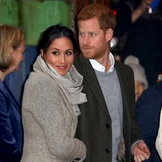 Prince Harry and Meghan Markle kicked off 2018 with their second-ever official joint royal engagement, visiting the Brixton district of south London on January 9 Meghan Markle Prince Harry, Prince Harry And Megan, Harry And Meghan, Cambridge, Princess Meghan, Royal Princess, Meghan Markle Style, Music Station, Movie Couples