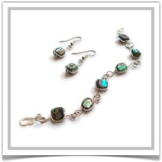 """One-of-a-Kind """"Luminescence"""" Jewelry Set - Designed by Belle Bijou:  http://www.bellebijoujewelry.com/store/detail/index.html#cid=48958"""
