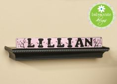 Baby Name Blocks Personalized Nursery Decor by BabySoCuteDesigns, $29.50