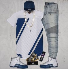 Those embellish jeans tho men jordan outfits, nike outfits for men, jordans outfit for Jordans Outfit For Men, Swag Outfits Men, Dope Outfits, Teen Boy Fashion, Tomboy Fashion, Nike Clothes Mens, Look Man, Embellished Jeans, Jordan Outfits