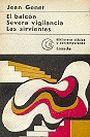 Libro Usado - Jean Genet: El balcon - Severa vigilancia - Las sirvientas