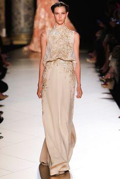 Elie Saab Fall 2012 Couture Fashion Show - Ruby Aldridge