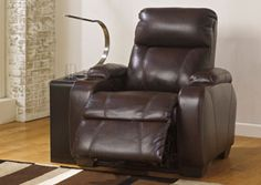 A Recliner with a built in cup holder! Nebula Canyon Recliner