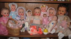 Vintage Bannister babies by Sun Rubber and their friends