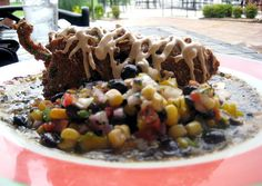 Stuffed Poblano at Redrock Canyon Grilll - wish I had the recipe for THIS!