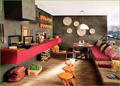 Varandas dão novo charme aos apartamentos