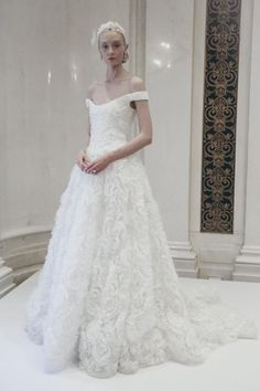 Marchesa Bridal Spring 2016 / Wedding Style Inspiration / LANE