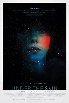 Under The Skin' by Neil Kellerhouse Hollywood in pretty decent movie poster shocker! Poster for Jonathan Glazer's new film starring Scarlett Johansson, 'Under The Skin' by Neil Kellerhouse. Hd Movies, Movies To Watch, Movies Online, Movies And Tv Shows, Movie Tv, Horror Movies, Movies 2014, Latest Movies, Movie Blog