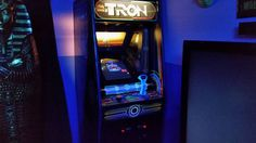 On instagram by silkieknight #arcade #microhobbit (o) http://ift.tt/1PvqKie whole day of work. But it was worth it!  The old computer i had blew in it. Been years since i set it all up. Had to remember everything i did.  #Tron  #DiscsofTron  #BallyMidway  #Midway  #25cents  #Sark  #LightCycles  #Recognizer  #SamFlynn  #KevinFlynn  #Encom  #TronLegacy  #FlynnLives  #Recognizer  #TheGrid #Bally #ArcadeMachine  #Arcade  #VideoGames  #ClassicArcade  #Disney  #FLYNNS #PaytoPlay #Snowday  #Bit…