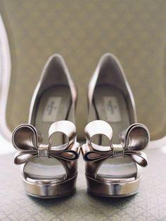 Wedding shoes idea; Featured Photographer: Caroline Tran Photography