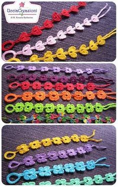 Sublime Crochet for Absolute Beginners Ideas. Capital Crochet for Absolute Beginners Ideas. Crochet Art, Crochet Crafts, Crochet Flowers, Crochet Stitches, Crochet Projects, Crochet Patterns, Crochet Butterfly, Diy Crafts, Crochet Bracelet Tutorial