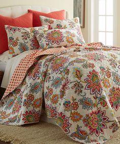 Look what I found on #zulily! Palladium Quilt Set by Levtex Home #zulilyfinds