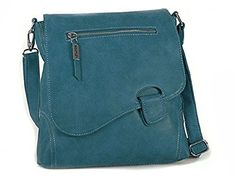 Bag Street - Bolso al hombro para mujer Azul azul: Amazon.es: Equipaje