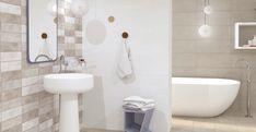 Elegantní a jemné béžové obklady série Visual jsou vhodné do jakéhokoliv typu koupelny. Obklady nabízíme ve formátu 25 x 60 cm. #keramikasoukup #koupelnyodsoukupa #visual #koupelna #koupelnyinspirace #inspirace #inspiration Toilet, Bathroom, Washroom, Flush Toilet, Full Bath, Toilets, Bath, Bathrooms, Toilet Room