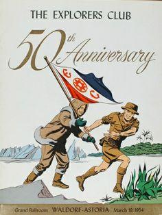 Explorers Club 50th Anniversary Gala Menu