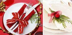 Resultado de imagen para adornar las servilletas para navidad