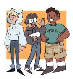 Tumblr Cartoon, Anime Vs Cartoon, Cartoon Fan, Cartoon Kids, Character Design References, Character Art, We Bare Bears Human, Old Cartoon Shows, We Bear