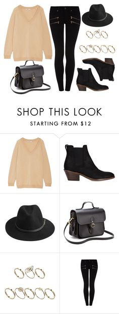 """Style #11514"" by vany-alvarado ❤ liked on Polyvore featuring T By Alexander Wang, rag & bone, BeckSöndergaard, The Cambridge Satchel Company, ASOS and Paige Denim"