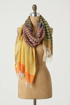 anthro scarf. Love.