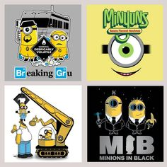 Minion Madness!! I love minions Minion Movie, Cute Minions, Minions Despicable Me, Minion Shirts, Minion Mayhem, Minions Quotes, Disney Cartoons, Mary Mary, Breaking Bad