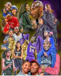 Kobe Bryant was a legend to the world, but to his daughter Gigi, he was so much more. Kobe Bryant Family, Lakers Kobe Bryant, Basketball Pictures, Love And Basketball, Basketball Stuff, Nba Pictures, Nba Basketball, Kobe Bryant Quotes, Kobe Quotes