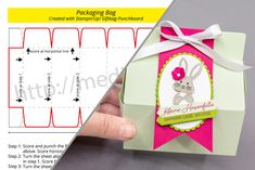 Craft Instructions: Packaging Bag with Giftbag Punchboard