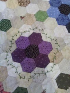 Barri Sue, I love what you have done with hexes!