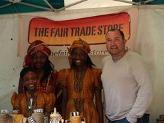 Great day out at Southport International Festival in 2011 with my beautiful helpers in their national costume.  Paul at THE FAIR TRADE STORE.  Photography by Nick Hill at :-  https://www.facebook.com/NickHillLiveMusicPhotography