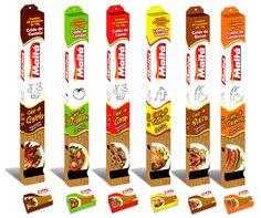 Maitá – Displays para embalagens de caldo para Pontos de venda (PDV) | Tatic Design