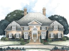 House Plan - Hampton Place - Stephen Fuller, Inc.