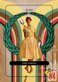 "TC022 ""XXI - The World"" by Jordan Clarke"